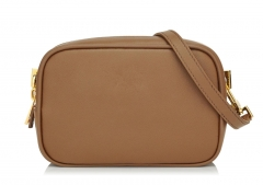 Soft premium calf leather mini crossbody bag case bag