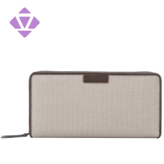 ZENVAN hot sale unisex travel clutch purse on sales canvas wallet purse fashion zipper wallet