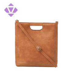female office vegetable tanned leather document and laptop handbag