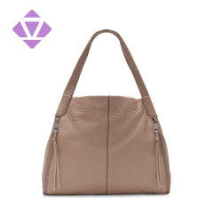 strict quality control factory lambskin bubble leather designed handbag