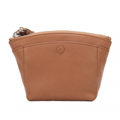 wholesale factory OEM zipper coin purse with short handle